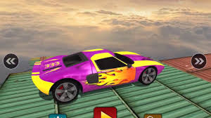 impossible stunt car tracks 3d android ios gameplay 2017 tough