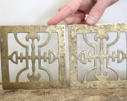 Decorative Metal Trivets Brass Trivet Etsy