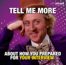 Impact Meme - before the interview in depth preparation is important to make a