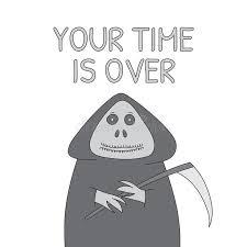 grim reaper sketch stock vector image 63269734
