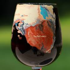 game of thrones map wine glass map of daenerys u0027s journey