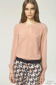 blouse for stringed keyhole neckline pink blouse with sleeves