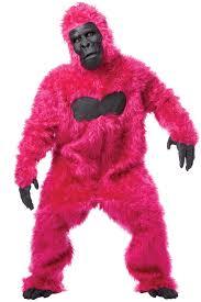 c900 mens gorilla ape monkey colour halloween fancy jungle
