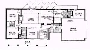 Ranch Style Homes With Open Floor Plans Luxury Ranch House Plans Ideas One Story With Bat Mid Century