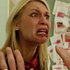 claire danes crazy face meme generator