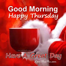 christmas good morning happy thursday quote christmas tradition