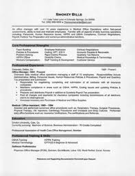 Medical Billing Resume Examples by Sample Resume For Operations Manager Resume Design And Career