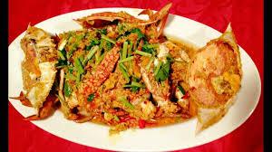 chien cuisine ป ผ ดผงกะหร ปลากะพงหน งมะนาว chien restaurant