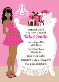 girl baby shower invitations modern crib it s a girl baby shower invitations candles and