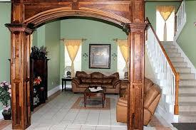 Wooden Arch Design For Kitchen