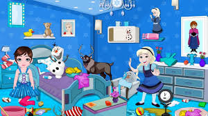 Cleaning Games For Girls Frozen Babies Room Cleaning Disney Princess Frozen Game For