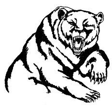 polar bear clipart fierce pencil and in color polar bear clipart