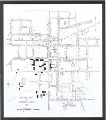 Map Of Alabama Cities Building Map 1931 Au