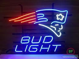 bud light neon light bud light new england patriots neon sign nfl teams neon light bud