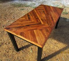 Rustic Kitchen Table Rustic Modern Dining Table Wood Art Table - Custom kitchen table