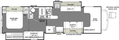 Minnie Winnie Floor Plans by Long Beach Ca Rv For Rent Camper Rentals Outdoorsy