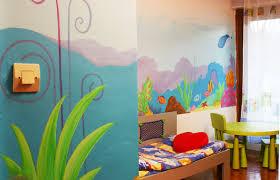 fresque murale chambre bébé sabine design sabine design déco enfant fresques murales