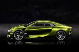 citroen supercar super charged ds e tense gt concept revealed by car magazine
