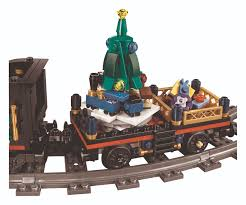 christmas comes early with the lego 10254 winter holiday train