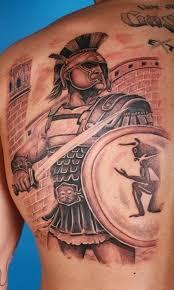 creative warrior tattoo ideas best tattoo 2015 designs and