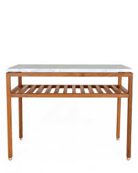 the dominican side table in wood by hugh newell jacobsen liz o u0027brien