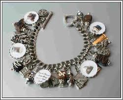 themed bracelets miranda tutti frutti theme silver charm bracelet jewelry