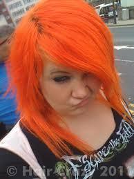 Cherry Bomb Hair Color Orange Hair Photos Haircrazy Com