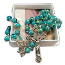 my rosary my rosary teal family catholic gifts