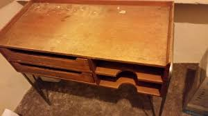 Small Vintage Desk Small Vintage Desk With Two Draws In Edgware Gumtree