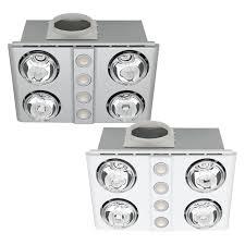 l2u 135 mercator magnus quattro 3in1 bathroom 4 heat led light