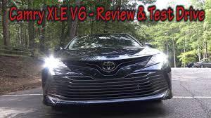 toyota camry xle v6 review 2018 toyota camry xle v6 review and test drive