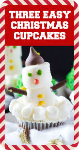 three easy christmas cupcakes i knead to eat
