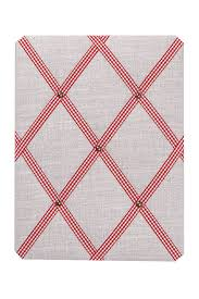gingham ribbon vintage linen noticeboard gingham ribbon by pins and ribbons