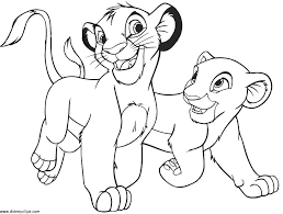 lion king 2 coloring pages printable coloring sheet anbu