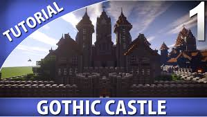 Minecraft House Blueprints Layer By Layer by Minecraft How To Build A Gothic Castle Part 1 10 Youtube
