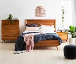 mali bed frame natural bedroom furniture forty winks
