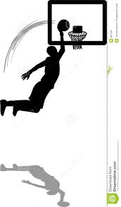basketball player dunking clipart clipartxtras