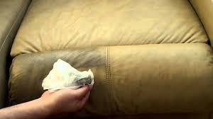How To Get Ink Out Of Leather Sofa by How To Easily Clean Your Leather Couch Sofa For Pennies Youtube