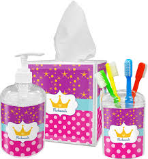 sparkle u0026 dots bathroom accessories set personalized potty