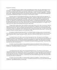 doc 500500 sample recommendation letter format u2013 sample letter