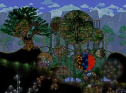 Terraria Map Download Central Hub Of My Terraria World Album On Imgur
