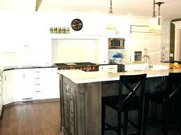kitchen island height counter height island high top table and chairs kitchen cart
