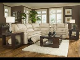 dark brown couch living room decor relaxed modern living room