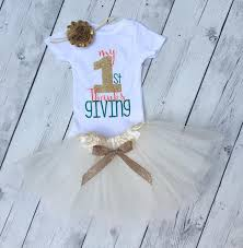 My Thanksgiving Newborn My Thanksgiving Tutu My 1st Thanksgiving For
