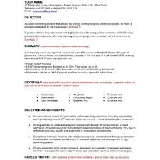 resume objective samples sample resumes examples cover letter