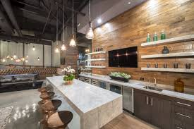 Kitchen Island Modern Industrial Kitchen Design Ideas Hardwood