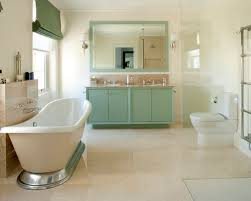 Striped Bathroom Walls Sage Green Bathroom Home Design Ideas Pictures Remodel And Decor