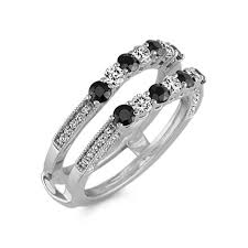 black sapphire engagement rings black sapphire and ring guard shane co