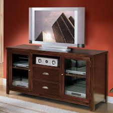 media console with glass doors modern black painted mahogany wood media stand with glass doors of