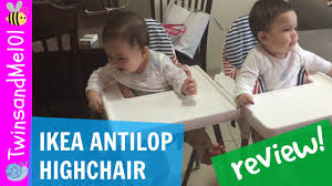 High Chair Cushion Ikea Ikea Antilop High Chair Review Why Buy Expensive Ones Youtube
